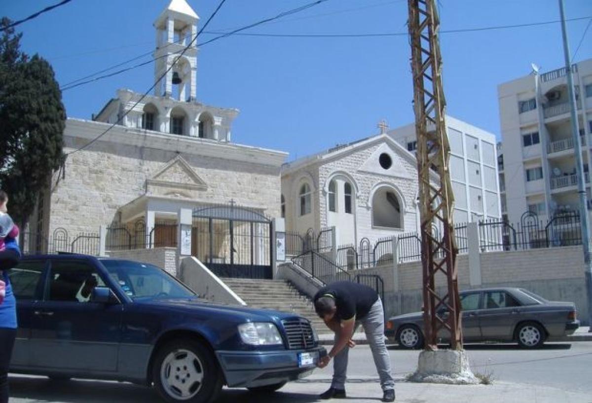 Saint Michael's Church in Ebbe, Tripoli in northern Lebanon